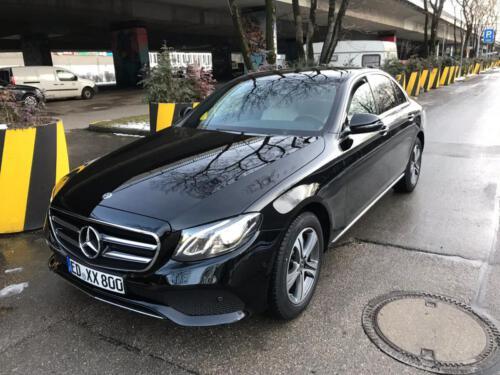 Mercedes taxi erding